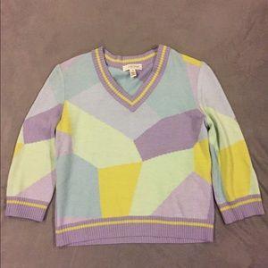 Vintage St John Sport Pullover Sweater Size P